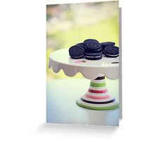 Cookies Greeting Card