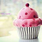 Cherry cupcake by Lili Ana