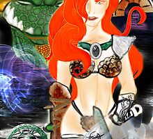 Warrior Lady. by RebelInkGirl31