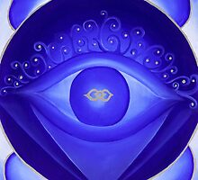 6th Chakra - Third Eye Chakra by Lori A Andrus
