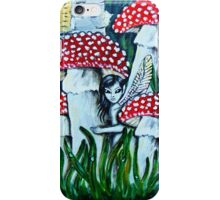 Guardians of the Poisonous Realms Series- Fly Agarics iPhone Case/Skin
