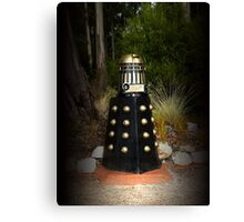 Dalek Letter Box Canvas Print