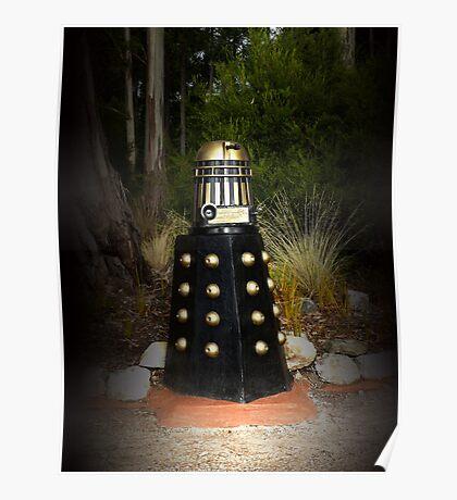 Dalek Letter Box Poster