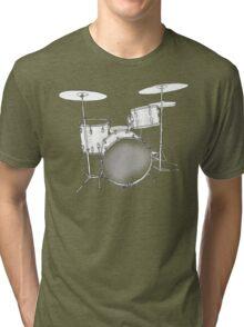 drums BW Tri-blend T-Shirt