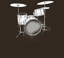 drums BW Unisex T-Shirt