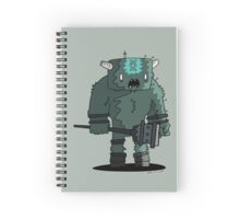 Shadow of the tiny colossus Spiral Notebook