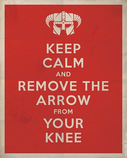 Keep Calm Skyrim by Shaife