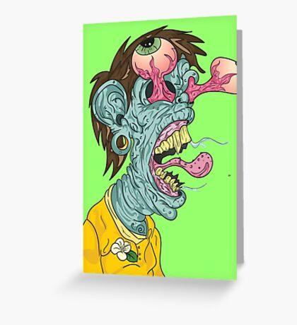 Bleh! Greeting Card