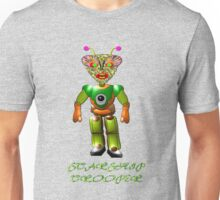 An Alien Starship Trooper on Planet Ykculiain in the Galaxy of Zirene Unisex T-Shirt