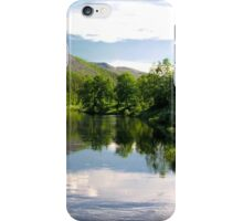 Mountain lake iPhone Case/Skin