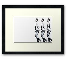 männer/150 Framed Print
