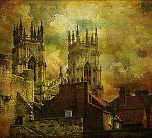York Minster, York, North Yorkshire. UK. by Philip Edmondson
