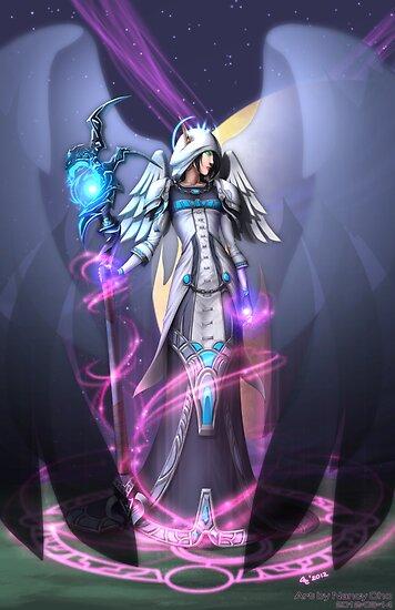 Dark Archangel by Nancy Cho