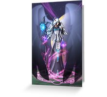 Dark Archangel Greeting Card