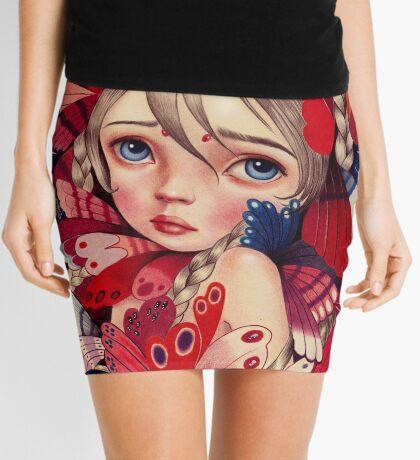 Butterfly Sanctuary  Mini Skirt