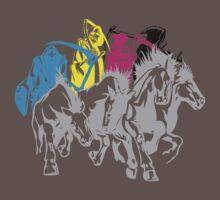 4 Color Horsemen of the Apocalypse by Ben Vagnozzi