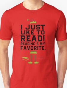 Reading Is My Favorite!  T-Shirt