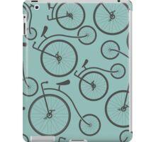 Vintage Retro Bicycle background iPad Case/Skin