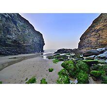Cornwall: Bossiney Haven Photographic Print