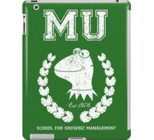 School for Showbiz Management iPad Case/Skin