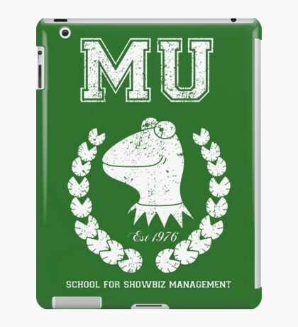 School for Showbiz Management iPad Case/Skin