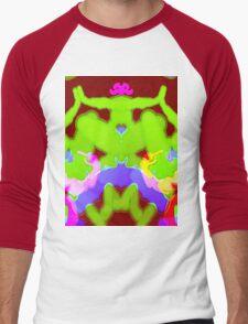Fracturous Men's Baseball ¾ T-Shirt