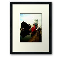 Maritime Reflections Framed Print