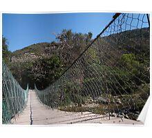 Jungle Bridge - Puente En La Selva Poster