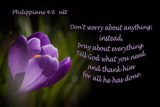 Phillipians 4:16 by Deborah McLain