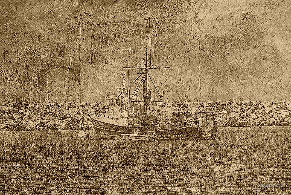 Pirate Boat by saseoche