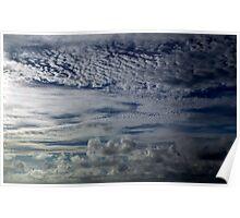 Cloudscape  at Dusk, Hamilton, Bermuda Poster