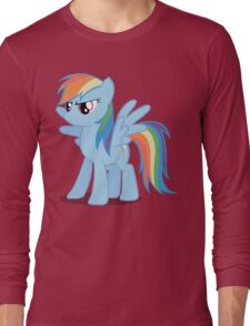 Rainbow Dash stance Long Sleeve T-Shirt