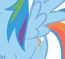 Rainbow Dash stance Sticker