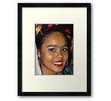 Pretty Woman - Mujer Linda Framed Print