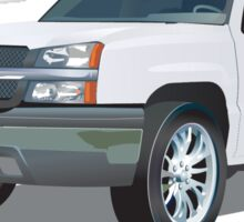 Chevrolet Avalanche Sticker