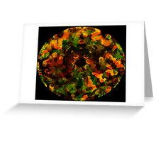 Reflections in the Eye of Pleasure Greeting Card