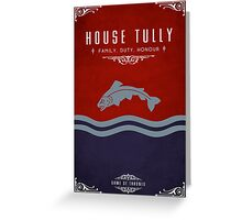 House Tully Greeting Card