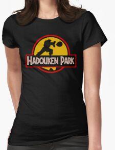 Hadouken Park Womens Fitted T-Shirt