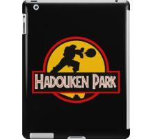 Hadouken Park iPad Case/Skin