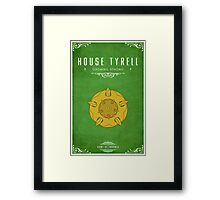 House Tyrell Framed Print