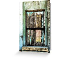 Door To The UnKnown Greeting Card