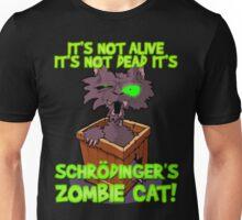What's in the box? Schrödinger's zombie cat! Unisex T-Shirt