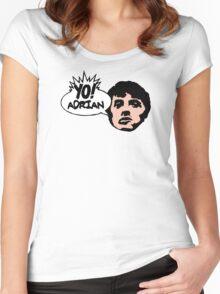 Yo! Adrian Raps Women's Fitted Scoop T-Shirt