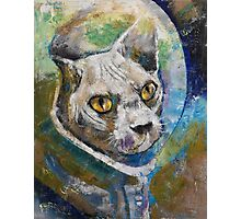 Space Cat Photographic Print