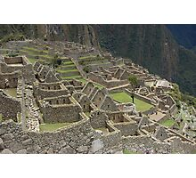 Walking with the Incas Photographic Print