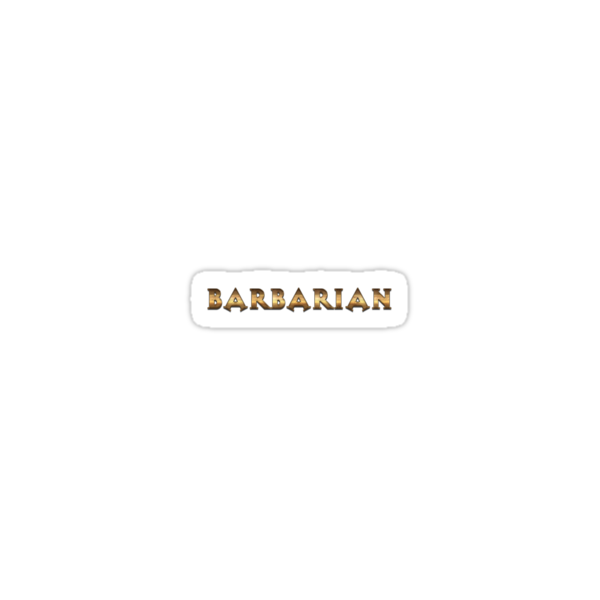 Barbarian (Rust Version) by tombst0ne