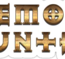 Demon Hunter (Rust Version) Sticker