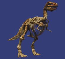 Dinosaur skeleton tee and phone case T-Shirt