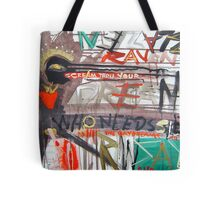 scream your dreams Tote Bag