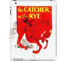 For the Holden Caulfield in all of us iPad Case/Skin